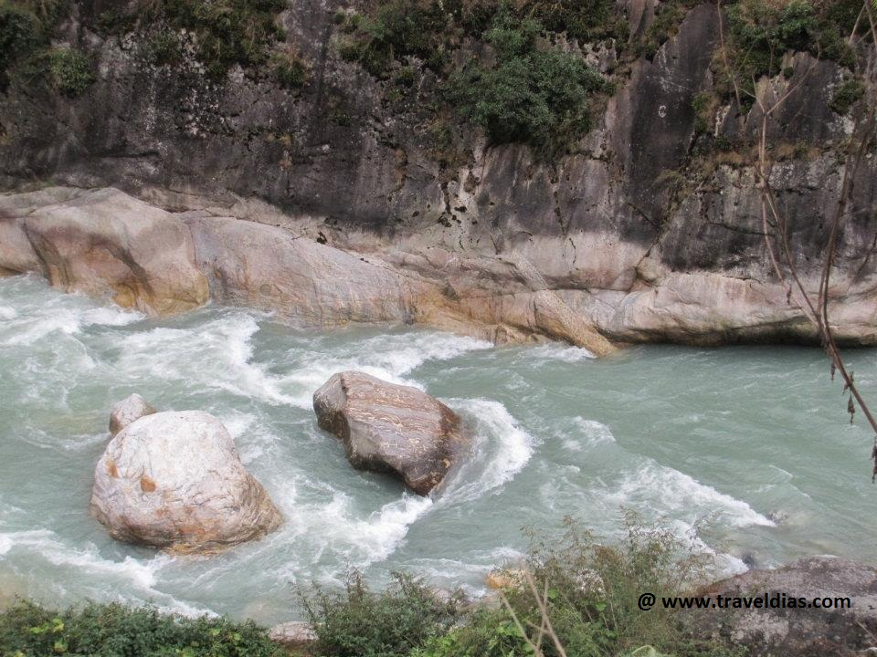 Teesta River Gangtok
