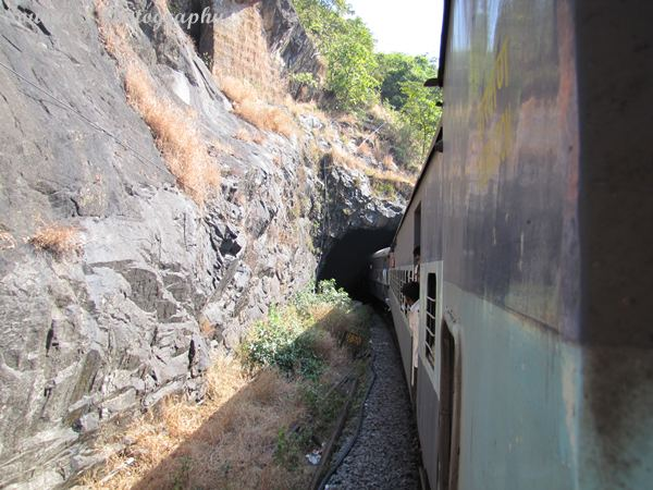 Goa tourism train travel