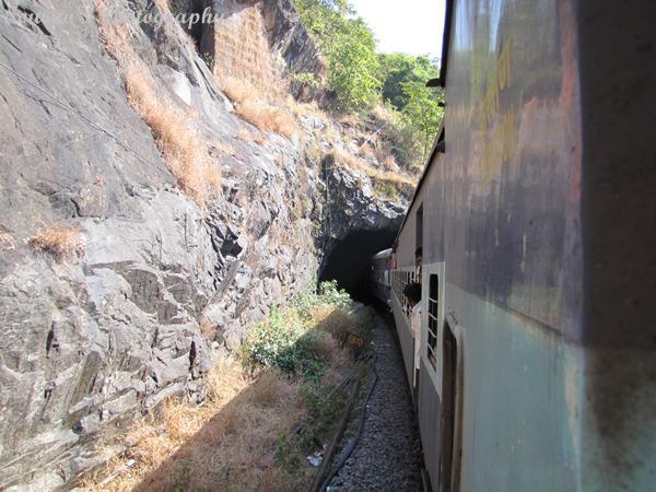 Goa tourism train travel