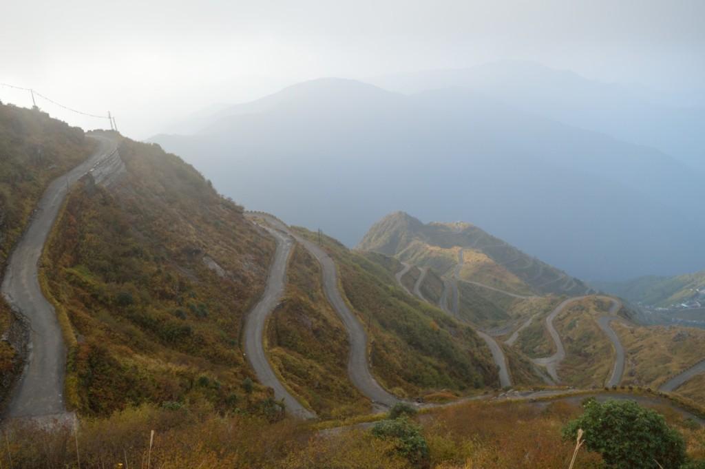 Zig Zag Road - silk route