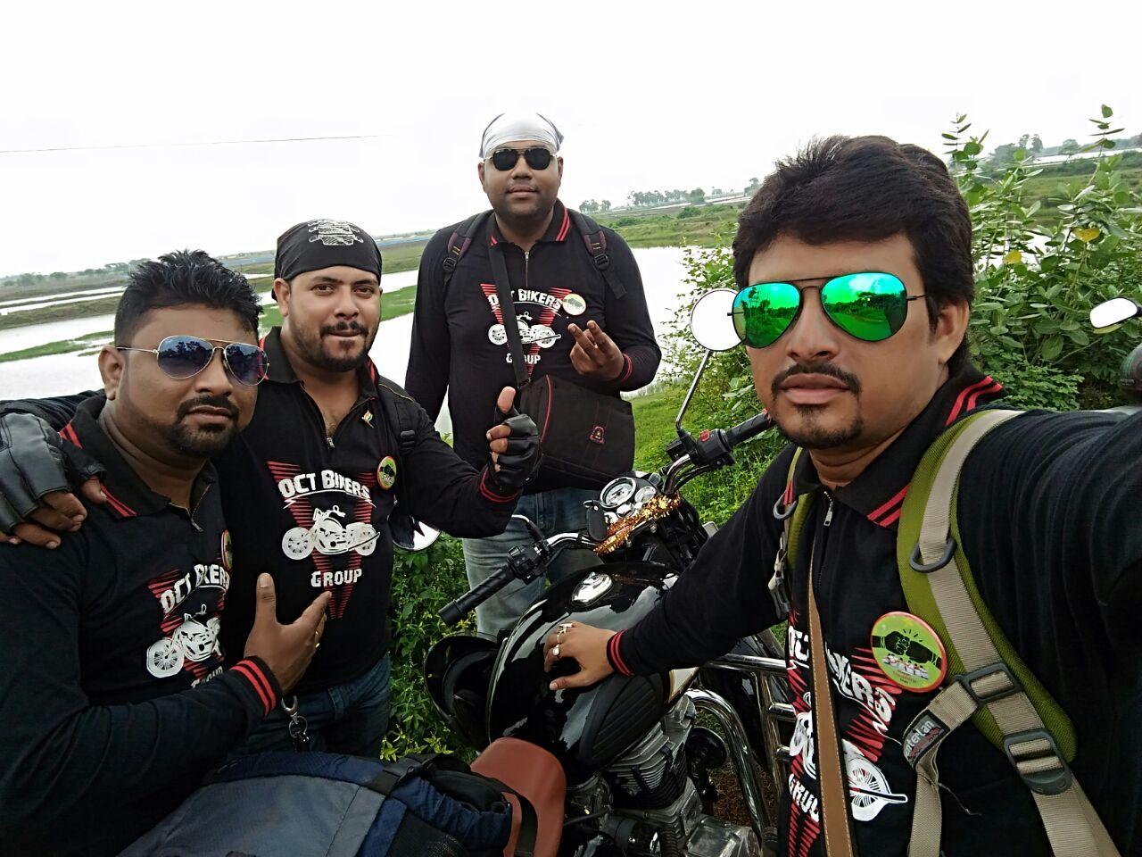 Kolkata to Tajpur bike
