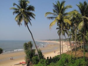 Anjuna beach north goa